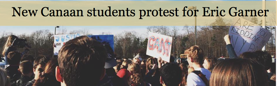New+Canaan+students+protest+for+Eric+Garner+