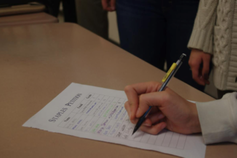 Student petitions prove unpopular with administration