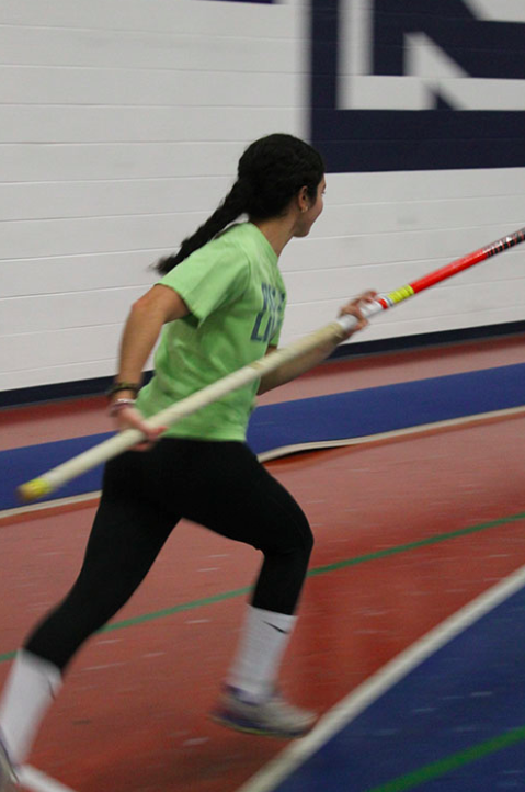 Field event athletes take the extra mile to gain recognition