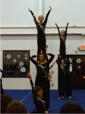 Westport/Weston YMCA gymnastics dance the night away