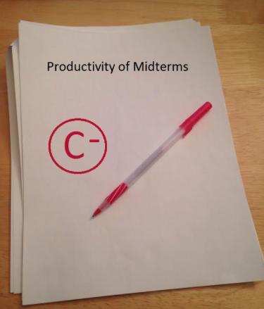 Midterm exams prove counterproductive