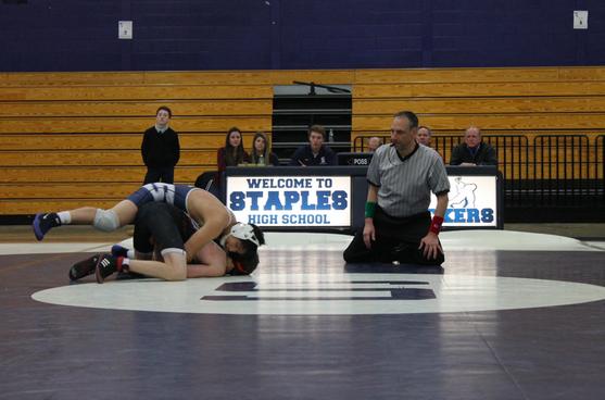 Staples falls to Ridgefield in Wrestling Meet