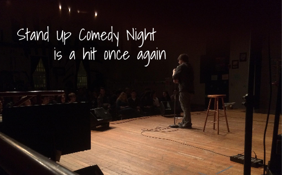 Stand Up Comedy Night attracts many students once again