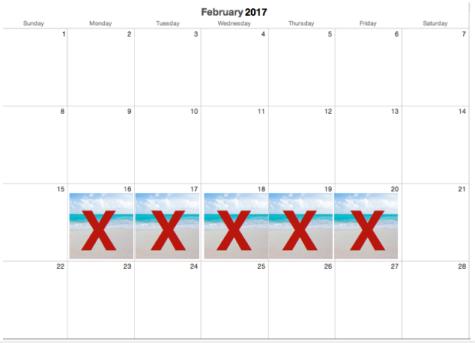 Feb. break, it was nice knowing you