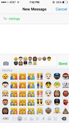 New racial emoticons seize students' attention