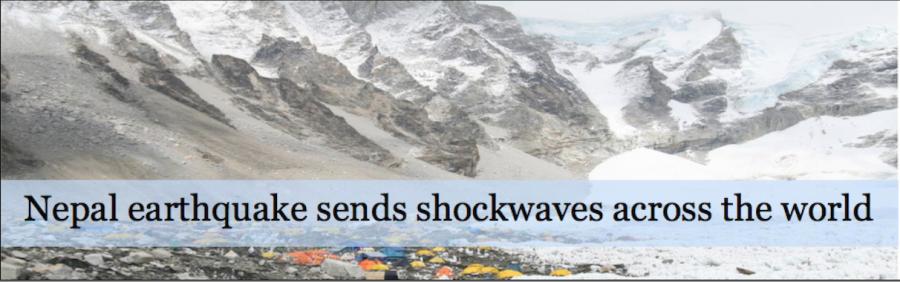 Nepal+earthquake+sends+shockwaves+around+the+world