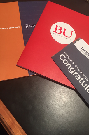 Before you know it, you'll have the acceptances rolling in. Photo by Nicole DeBlasi '15