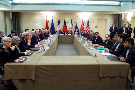 Secretary Kerry and other American officials discuss the framework of the deal with Iran.
