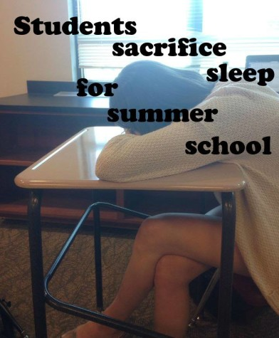 Summer school students scorn sleep schedule