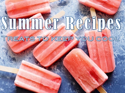 Sweet recipes to savour this summer