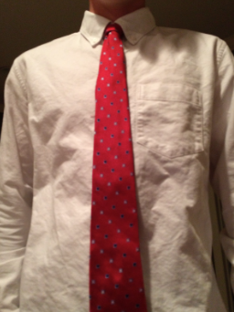 Wearing ties is a simply the better choice