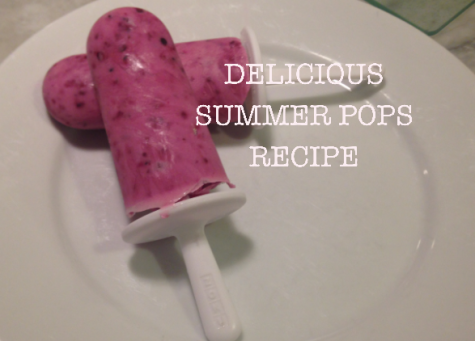 With finals quickly approaching and temperatures heating up, we all need a little cold summer snack to get us through the day. Here's a recipe for the most delicious greek yogurt berry popsicles, which are totally healthy and filling.
