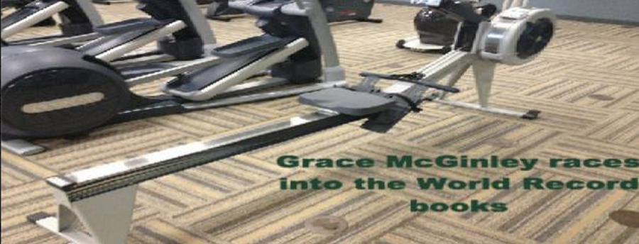Grace McGinley races into the World Record books