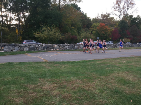 Boys' Cross Country Dominates Dual Meet