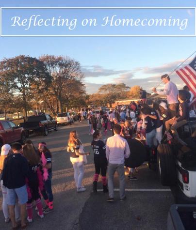 Reflecting on homecoming