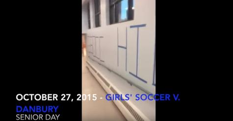 Senior Day Girls Soccer 2015