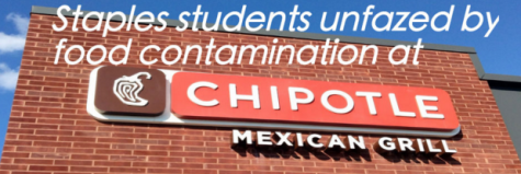 Staples students unfazed by food contamination at Chipotle Mexican Grill