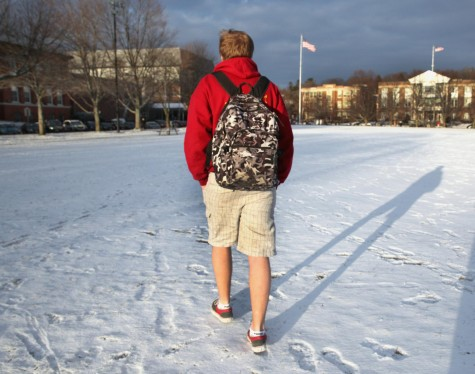 Winter's wacky weather leaves students questioning what to wear