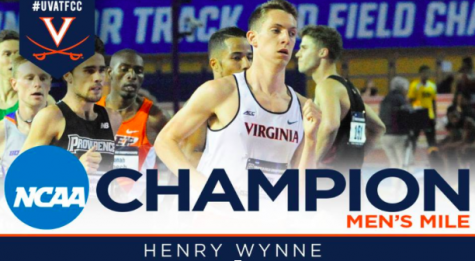Henry Wynne takes the crown in the NCAA Championship Mile