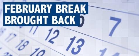 February break returns despite state schedule