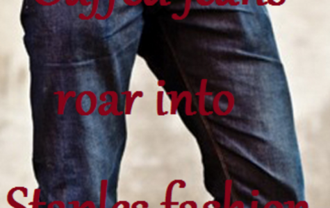 Cuffed jeans roar into Staples fashion