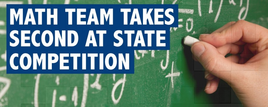 Math team takes second at state competition