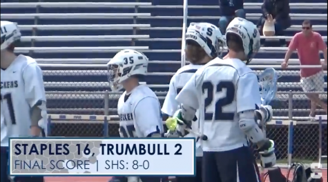 Boys' Lacrosse: Staples vs. Trumbull Highlights (4/23/16)