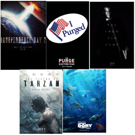 Upcoming summer blockbusters
