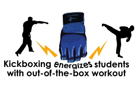 Kickboxing energizes students with out-of-box workout