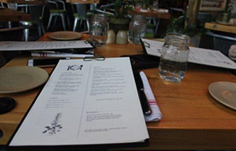 Terrain Garden Cafe provides  aesthetically pleasing dining environment