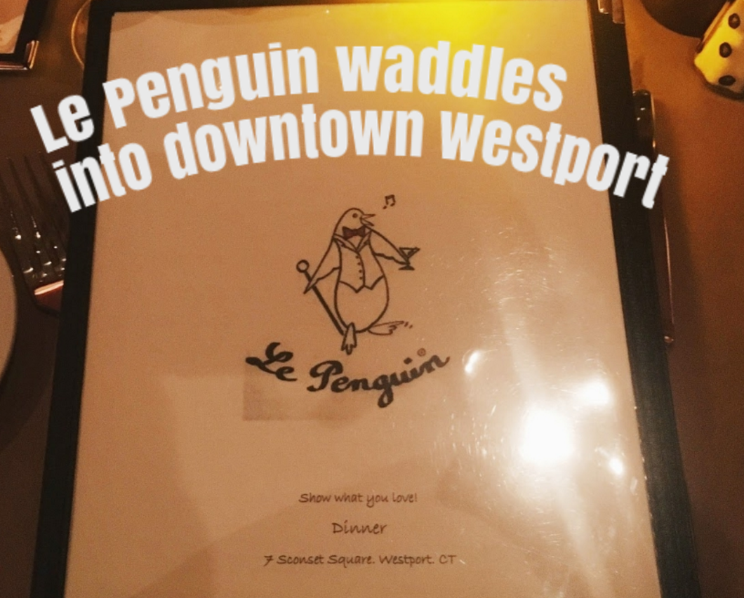Le Penguin waddles into downtown Westport