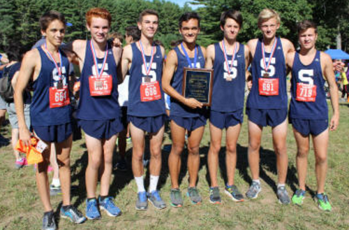 Staples boys' cross country dominates field in FCIAC victory