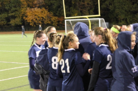 Girls' soccer ties Warde in final match of season