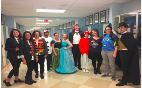 English Department Continues Their Costume Tradition