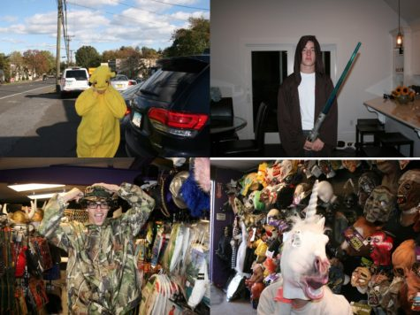 Westport Halloween costume hunting