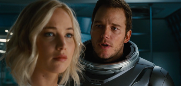 Passengers drives away from typical science fiction