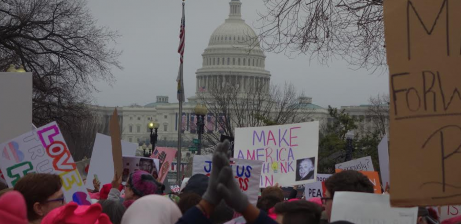 Women's March on Washington: two narratives tell the story of one historic event