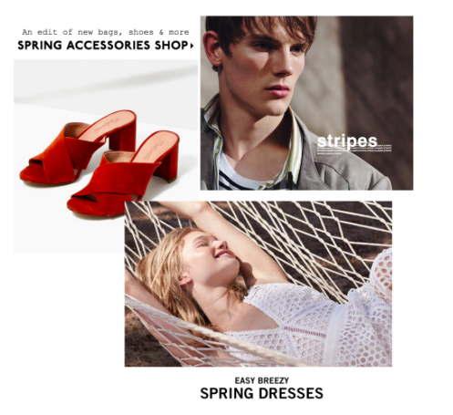 Swing into Spring fashion 2017