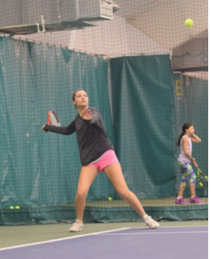 [April 2017] Dimaio serves up success as tennis season approaches this upcoming spring