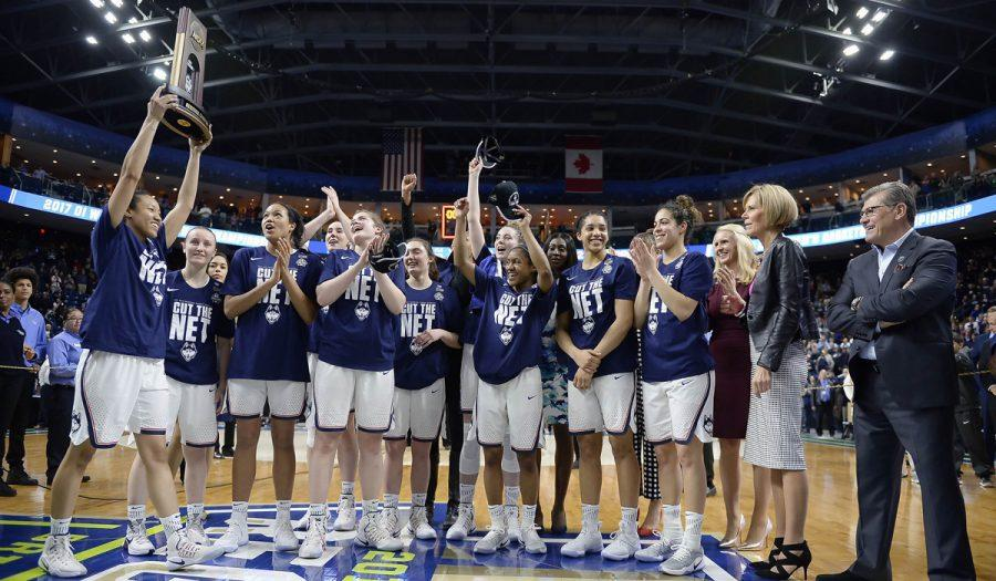 UCONN girls' basketball team cruises to Final Four before Mississippi State upset