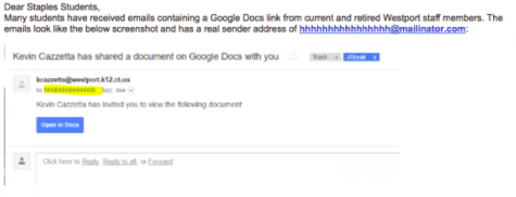 Google Phishing Scam Hits Staples