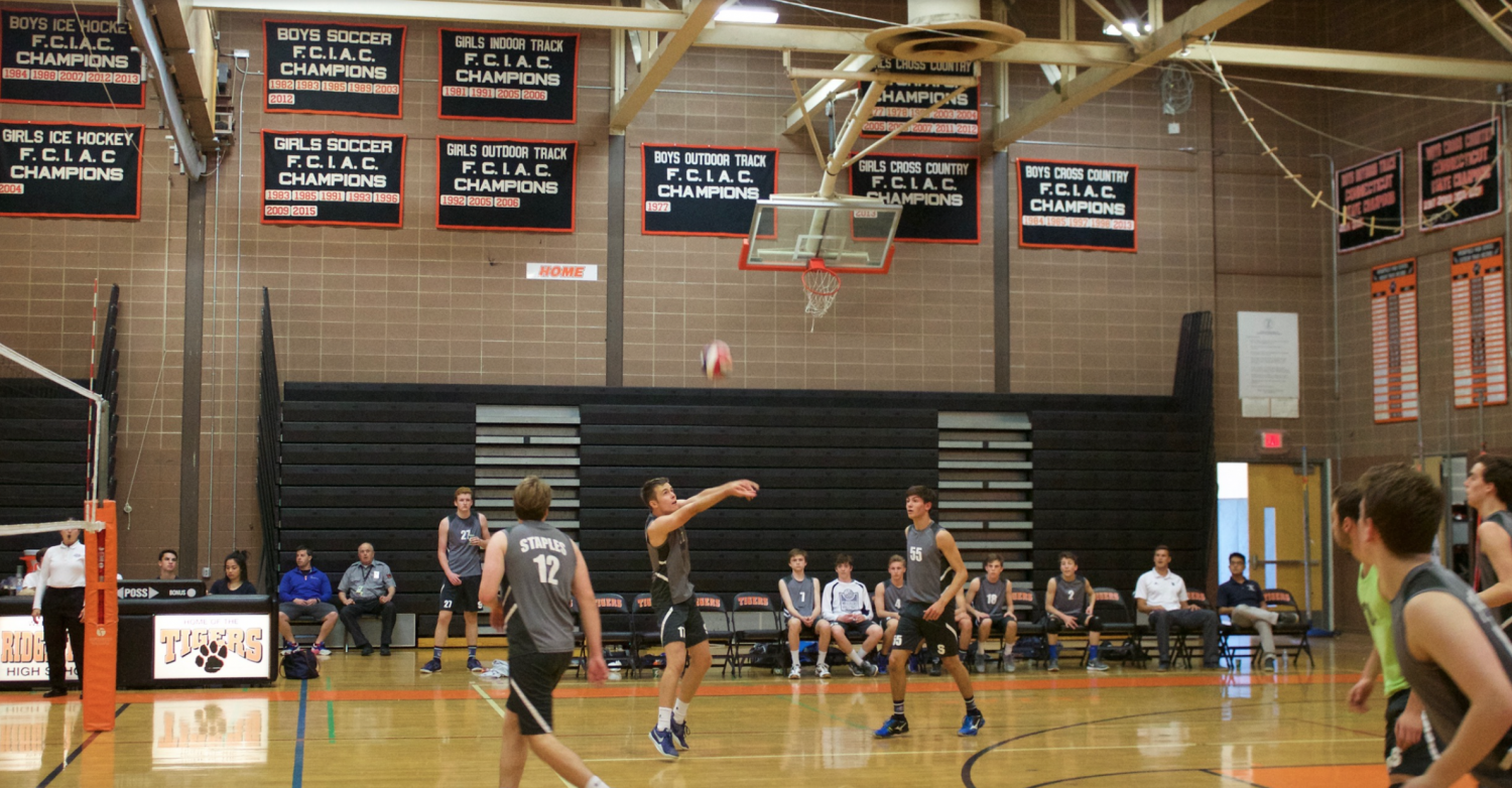 Staples boys volleyball falls to Ridgefield in State Quarterfinals