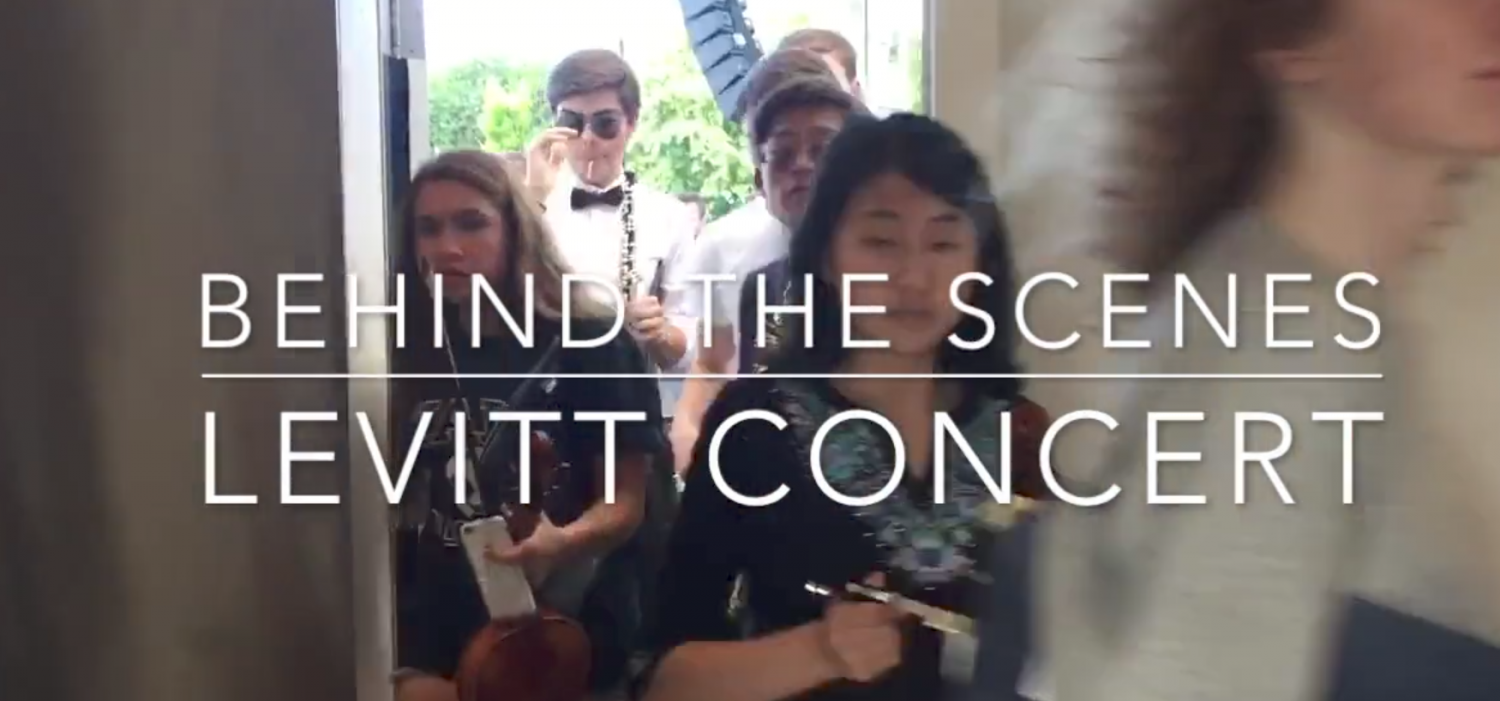 Levitt Concert - Behind the scenes