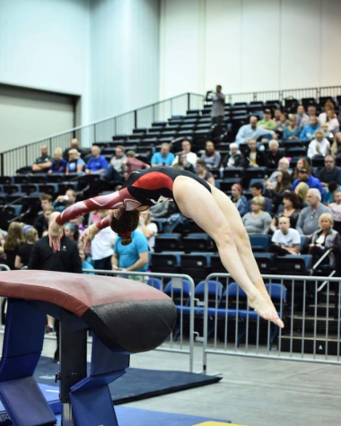 Kelly Griffin flips her way to Junior Olympic Nationals
