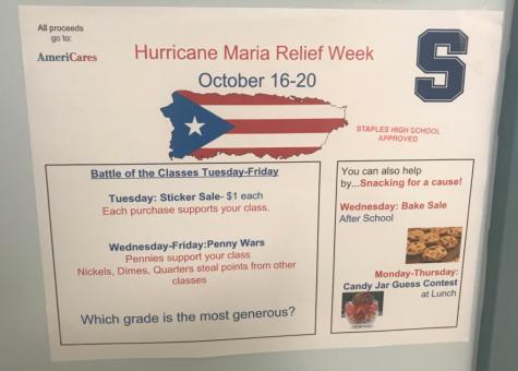 Hurricane Maria fundraising storms into Staples