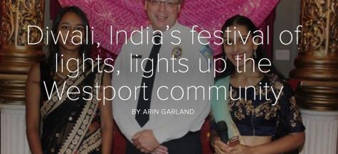 Diwali, India's festival of lights, lights up the Westport community