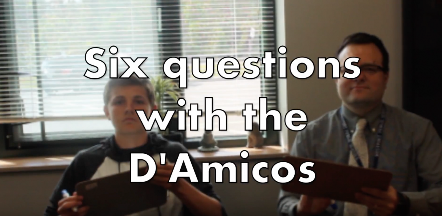 Six questions with the D'Amicos