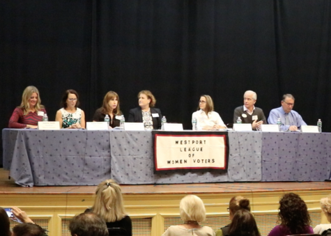 Board of Education candidates debate at town hall