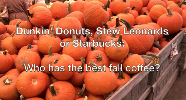 Dunkin' Donuts, Stew Leonards, or Starbucks: Who has the best fall coffee