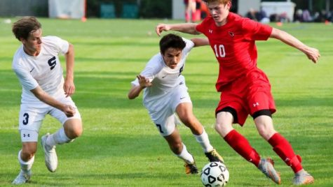 Crushing defeat pushes the boys' varsity soccer team to big victories
